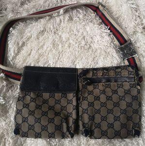 Authentic Gucci waist bag